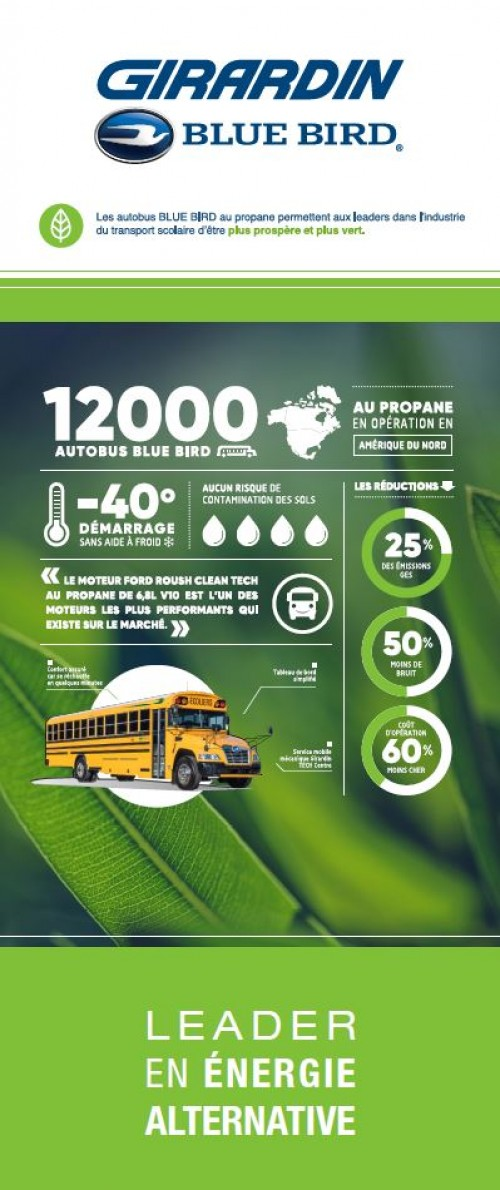 Interesting facts on propane from Girardin Blue Bird