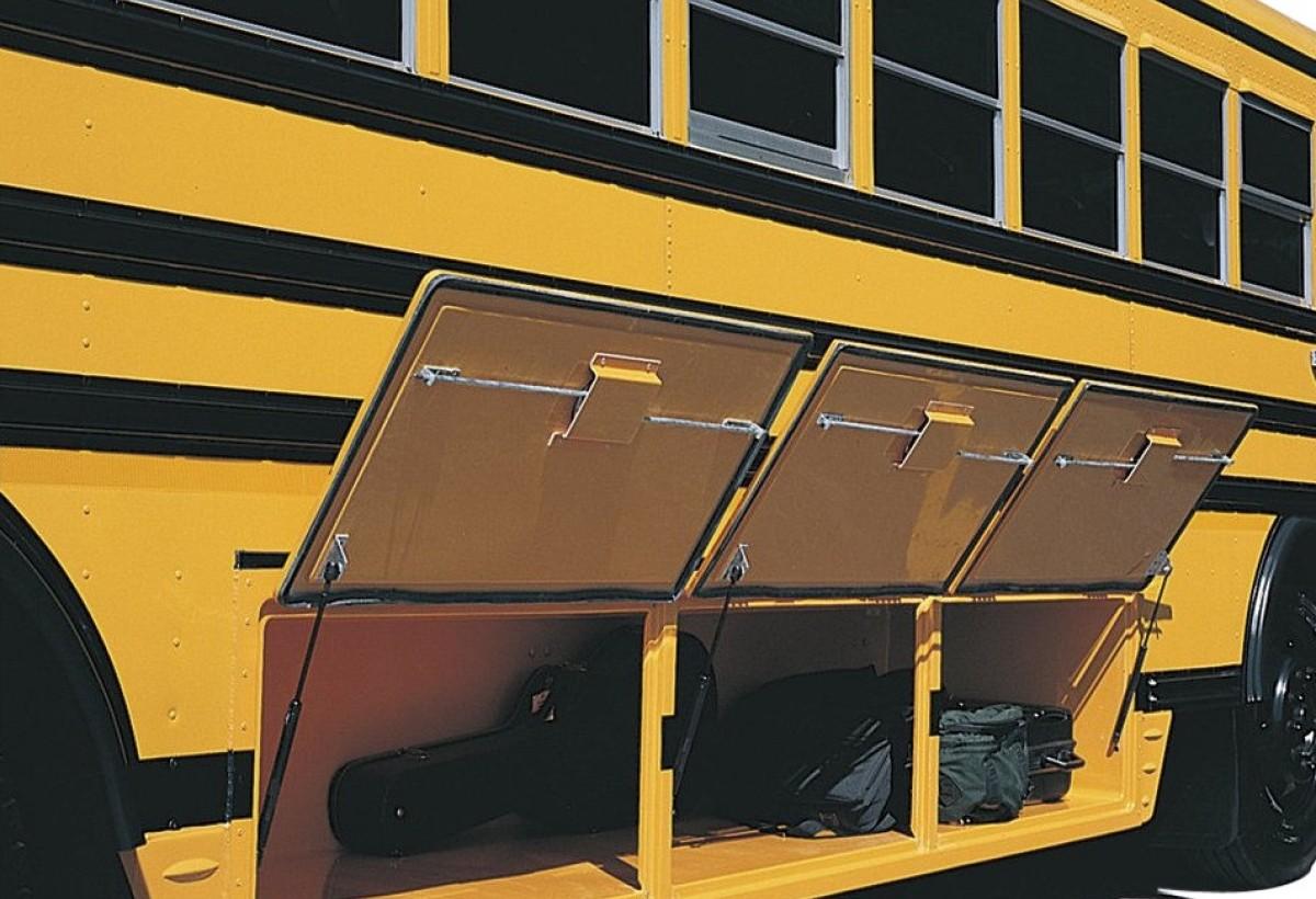 Blue Bird School Bus Vision